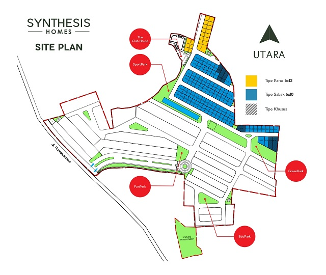 SITE PLAN Synthesis Homes