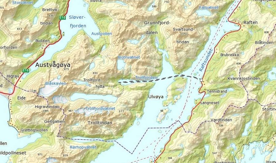 kart trollfjorden Lene sin!: Padling i Trollfjorden kart trollfjorden