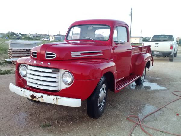 1950 Ford F3 Pickup Old Truck