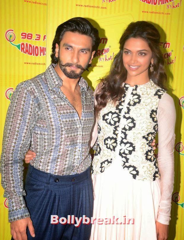 ,  Ranveer Singh, Deepika Padukone Together: Ram Leela Promotions