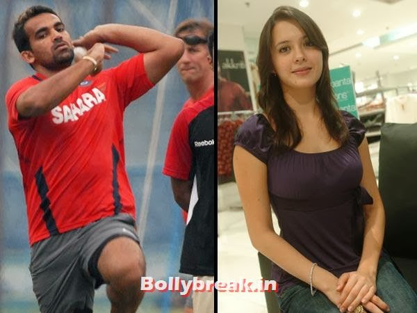 Zaheer Khan and Isha Shravani:  After having spilt  and patched up, the actress-dancer will soon tie the knot with the  highest wicket taker of the World Cup 2011, if the rumour mills are to  be believed.  Howzat?