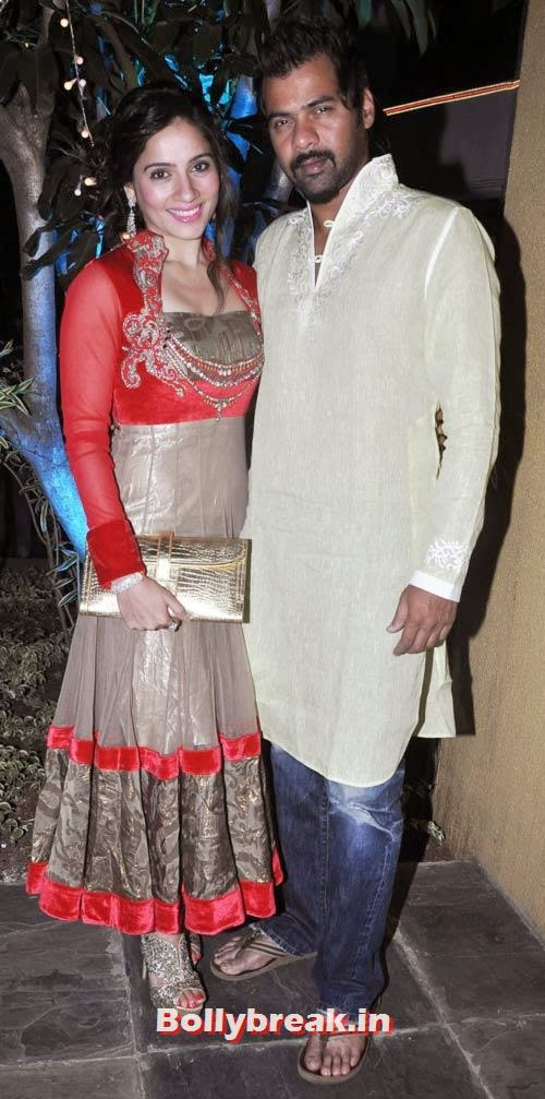 Kanchi Kaul and Shabbir Ahluwalia, Sachiin Joshi and Urvashi Sharma's Diwali Party