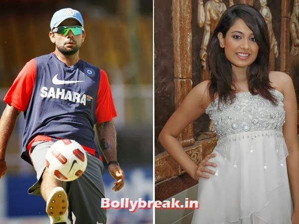 "Virat Kohli and Sarah-Jane Dias:  This middle order batsman and the Miss India title in 2007 would rather keep their ""friendship"" under wraps.