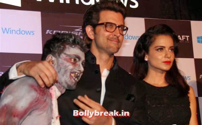 Hrithik Roshan and Kangana Ranaut, Halloween Party to Promote Krrish 3