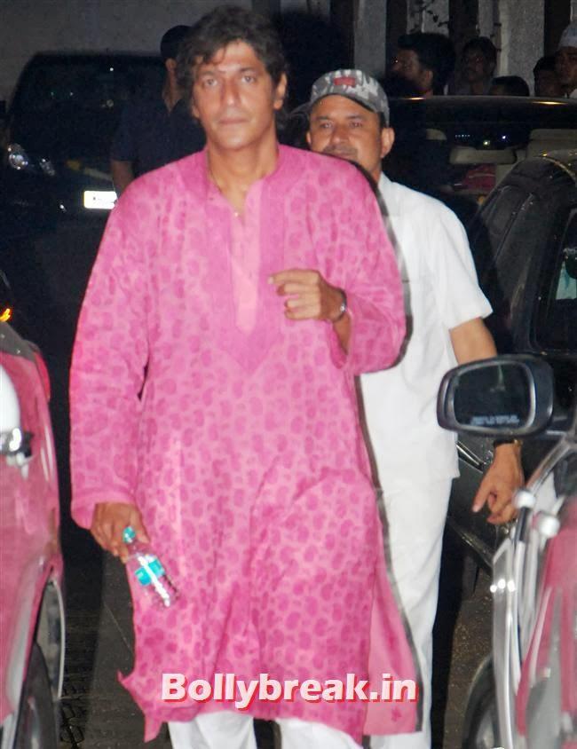 Chunky Pandey, Sohail Khan Diwali Bash