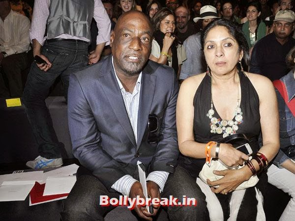 Vivian Richards and Neena Gupta:  This was one brief  relationship that resulted in a love child, Masaba (now a fashion  designer) who was born in 1989 and stays with her mom. The film and TV  actress is probably the only one to have had an affair with a W'Indies  cricketer.