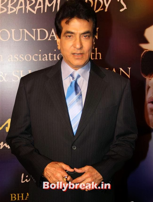 Jeetendra, Bollywood Beauties at Yash Chopra Memorial Awards