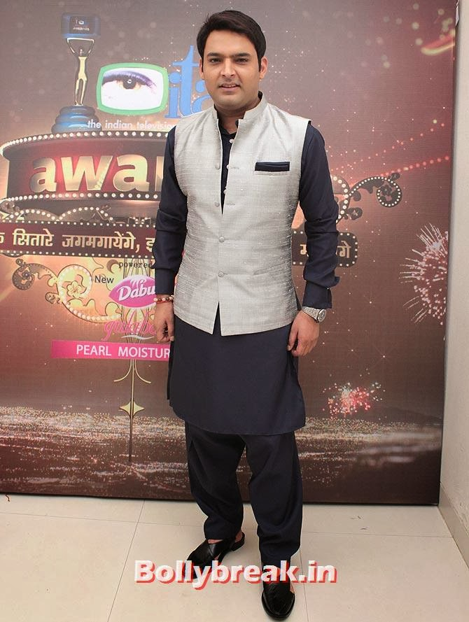 Kapil Sharma on Indian Tele Awards 2013 Red carpet, Indian Tele Awards 2013 red Carpet Pictures - ITA - Lauren Gottlieb, Mouni Roy, Ratan Rajput