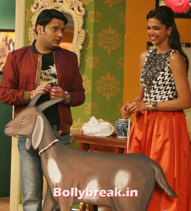 Kapil Sharma and Deepika Padukone, Comedy Nights with Kapil & Ram Leela Team