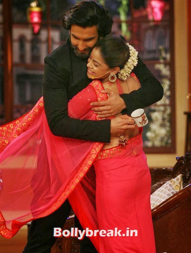 Ranveer Singh and Sumona, Comedy Nights with Kapil & Ram Leela Team