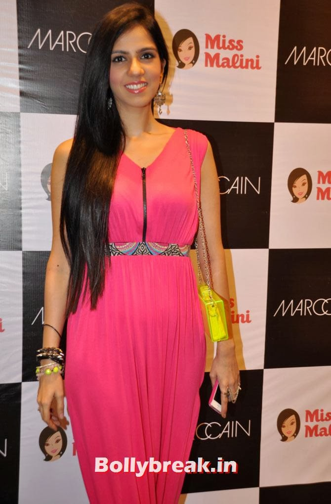 Nishka Lulla  Neon colours are the way to go this season and young designer Nishka Lulla isn't one to miss out on the trend in this cute girly jumpsuit.