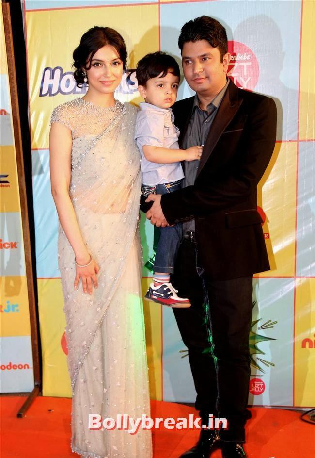 Divya and Bhushan Kumar, Nickelodeon Kids Choice Awards 2013 - Jacqueline Fernandez