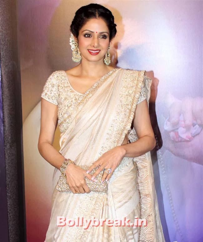 Sridevi, Bollywood Beauties at Yash Chopra Memorial Awards