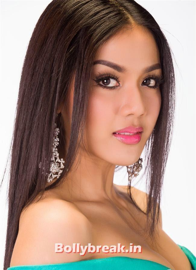 Miss Thailand, Miss Universe 2013 Contestant Pics