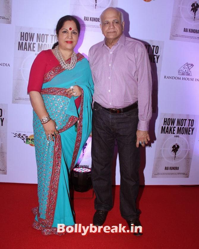 Surendra and Sunanda Shetty, Shilpa Shetty - How not to make Money Bash