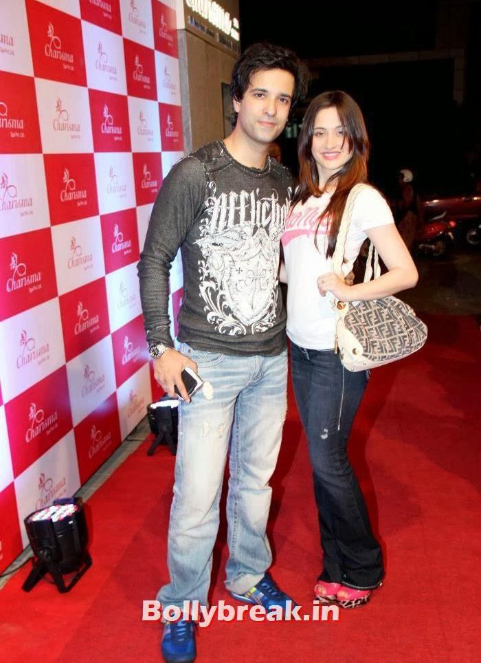 Sanjeeda sheikh with husband Amir ali, Sanjeeda Sheikh, Pooja  Misra at Charisma Spa Launch at Lokhandwala Mumbai