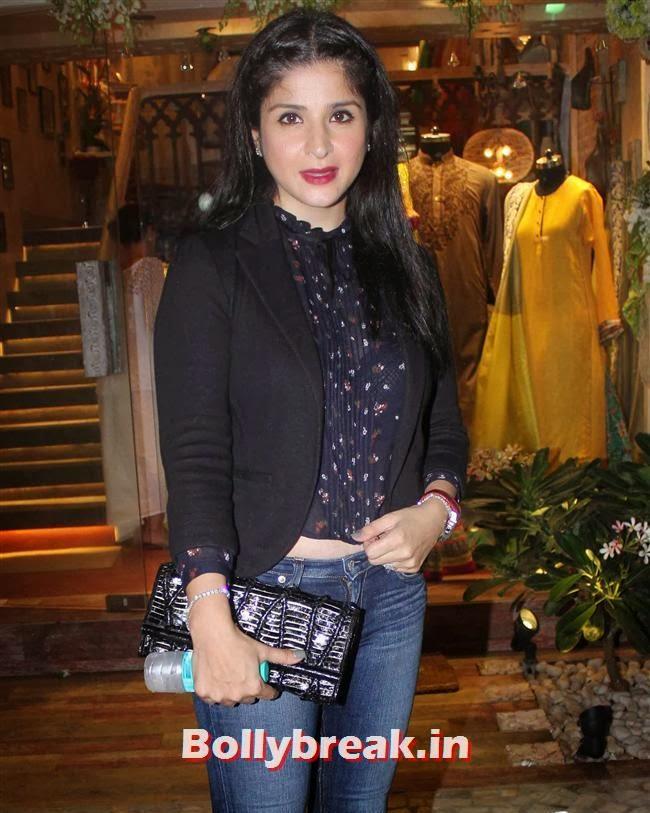 Maheep Kapoor, Salman Khan's Sister Alvira Khan Store Launch