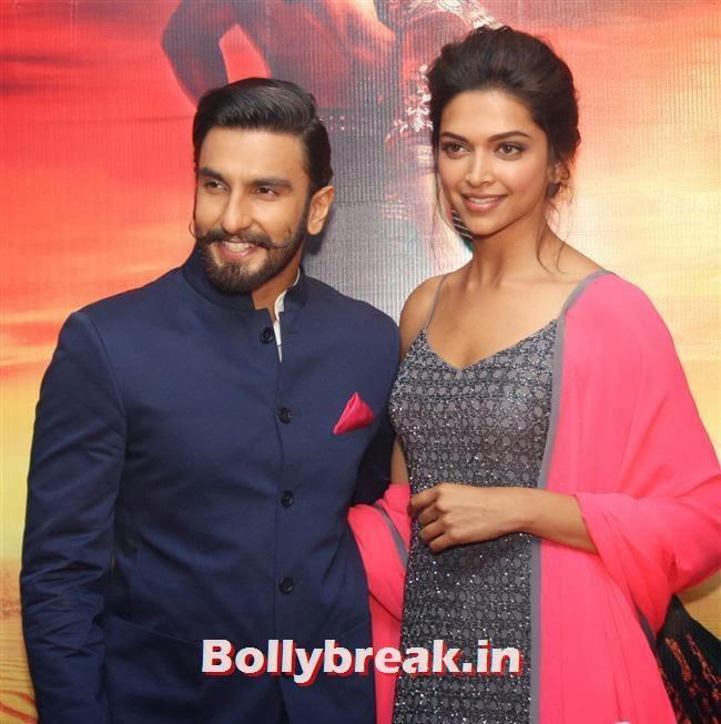 Deepika Padukone, Deepika Padukone & Ranveer Singh Promoting Ram Leela