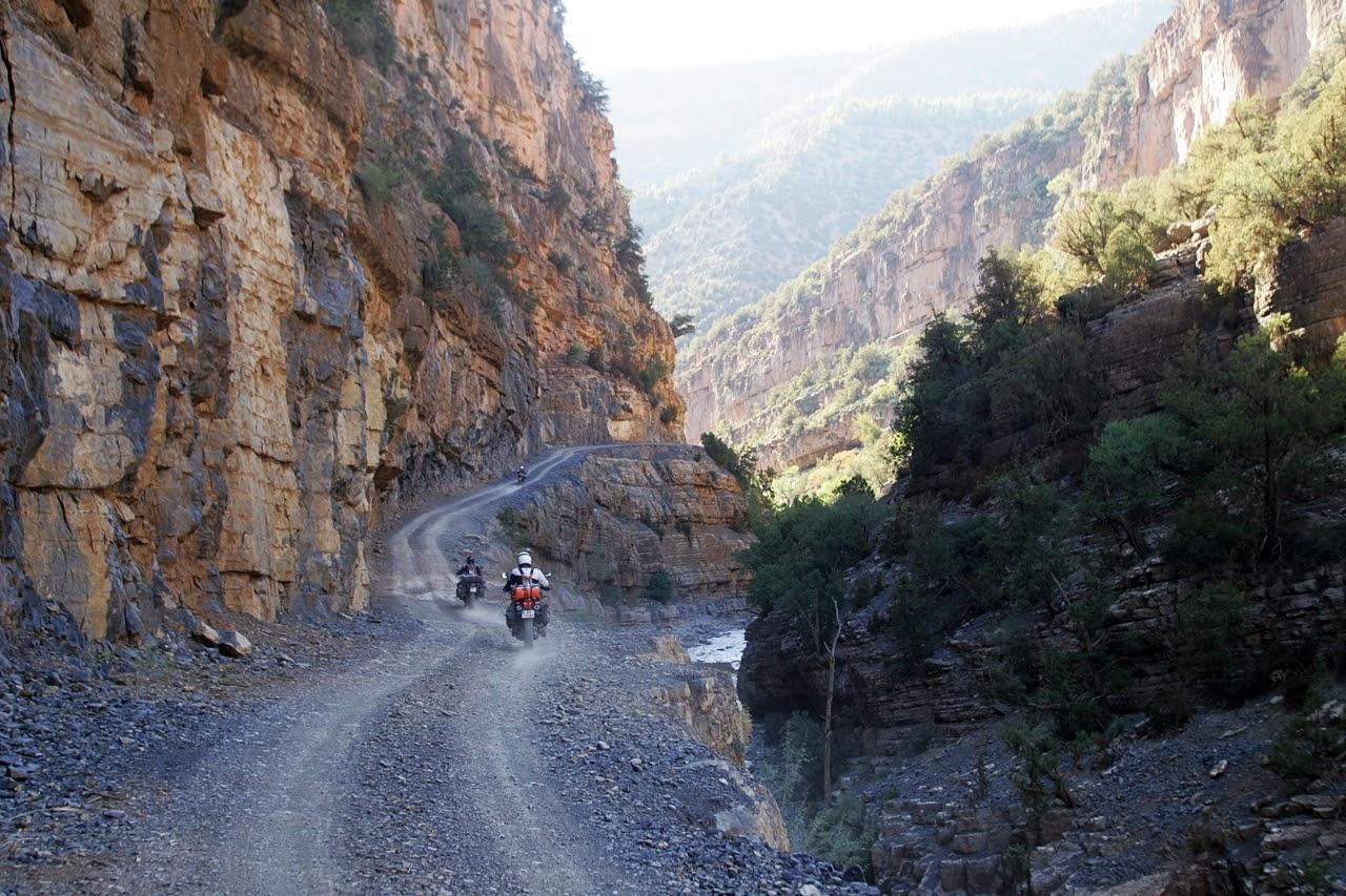 motocyklem do Afryki, transport motocykli