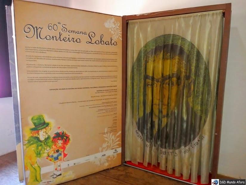 Museu Monteiro Lobato - Taubaté - SP - 8 atrações grátis no Brasil