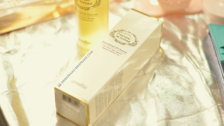 Review Langsre Amittie Natural Oil to Foam Cleanser