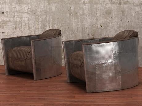 [3Dsmax] 3D model free - Aviator chair