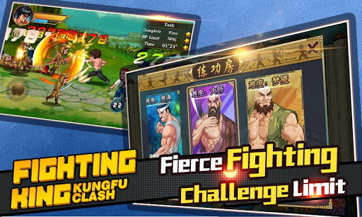 Fighting King Kungfu Clash Hack Mod Cho Android