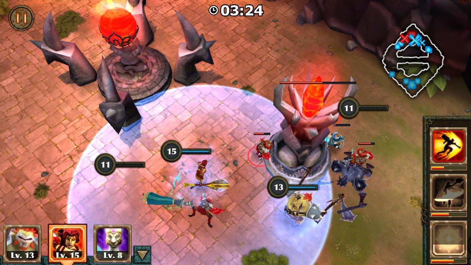 Game MOBA Android terbaik dan ringan