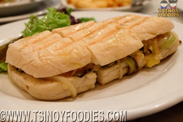 verdura panini