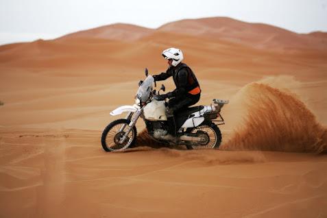 maroko na motocyklach
