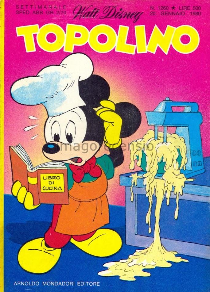 Imago recensio i cartoni animati giapponesi su topolino