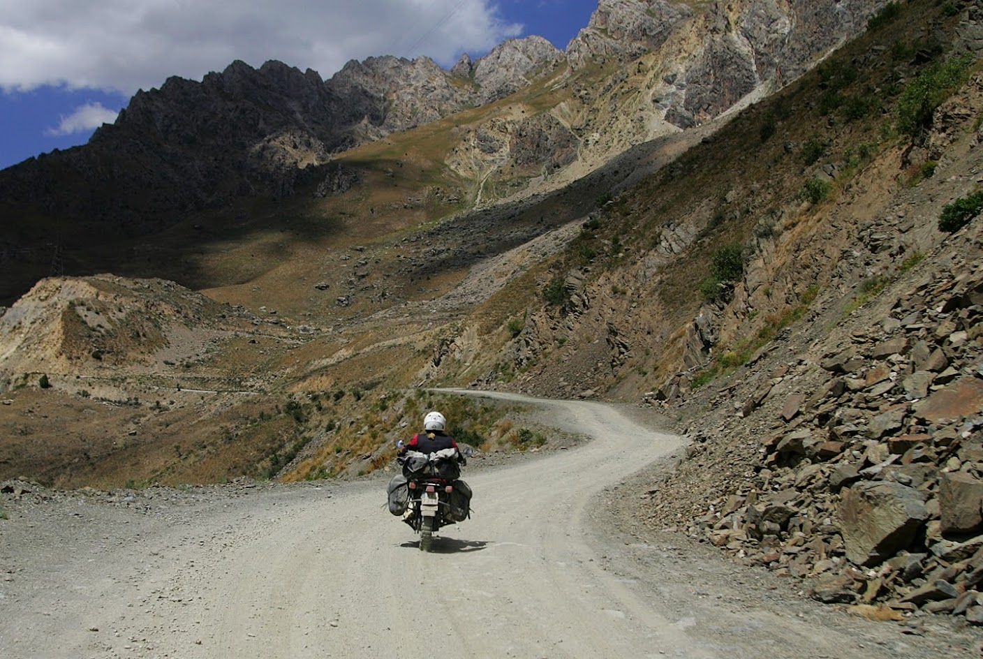 motocyklem do tadżykistanu pamir highway