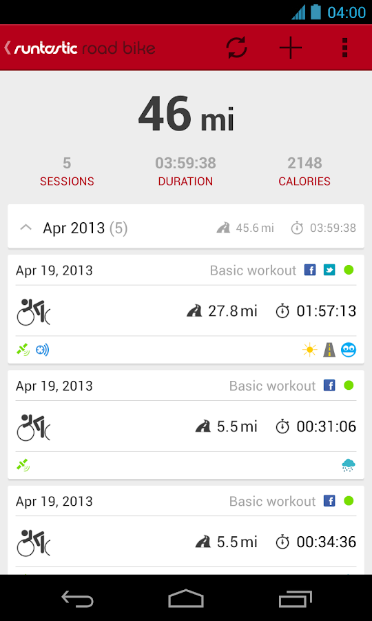 Runtastic Road Bike PRO v1.5 APK Health & Fitness Apps Free Download