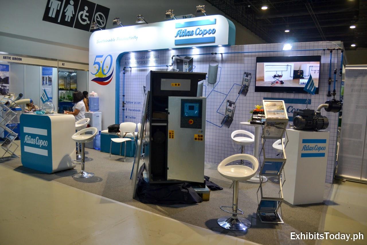 Atlas Copco Exhibit Booth
