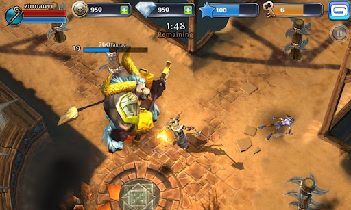 Gameloft] Dungeon Hunter 3 v1 5 0 (apk + data) [hack full
