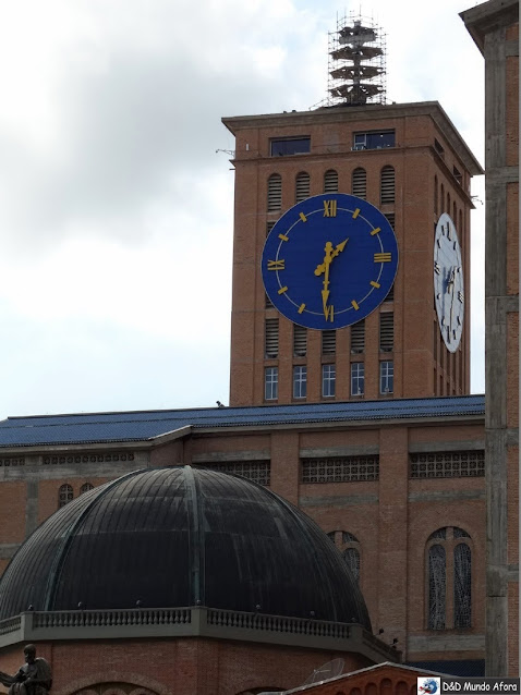 Torre do relógio - Santuário Nacional de Aparecida