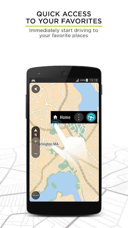 TomTom GPS Navigation Traffic v1 8 2 Build 1188 Patched APK
