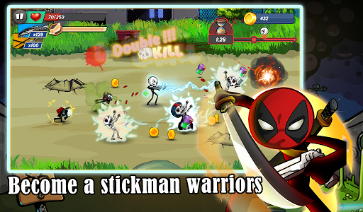 Stick vs zombie Stickman warriors Epic fight Hack