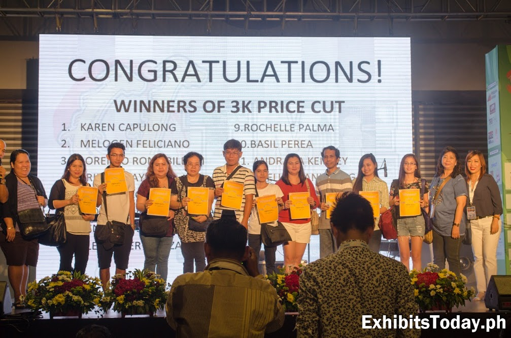 Day 2 Winners of 3K Price Cut