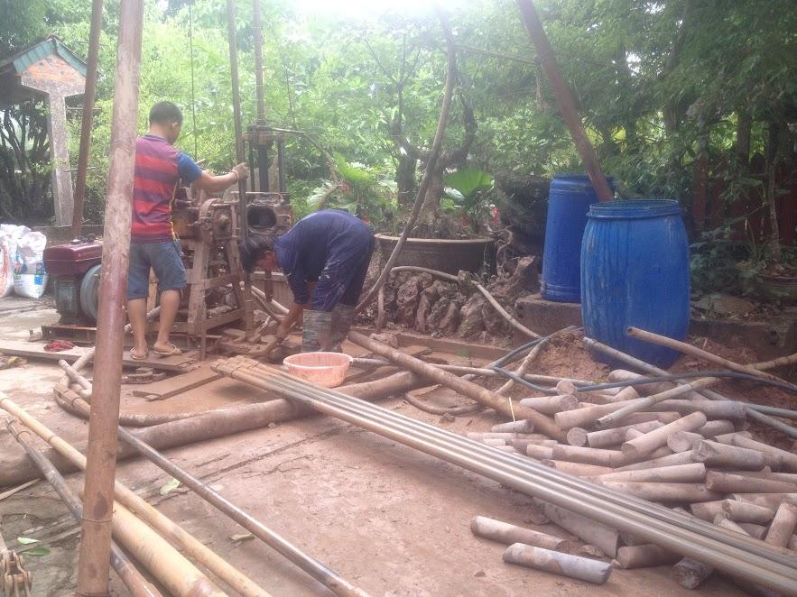 Khoan giếng công nghiệp tại Thanh Hóa