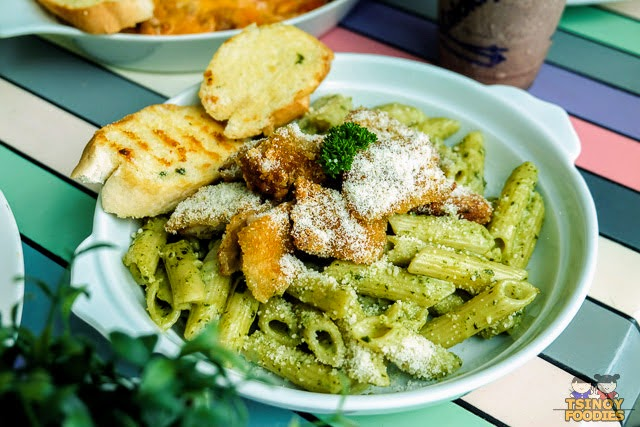 creamy chicken pesto