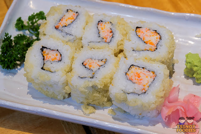 kani ebi tempura maki