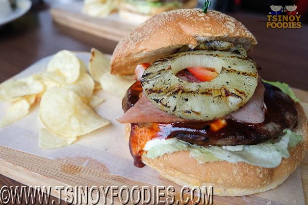 hawaiian laua burger