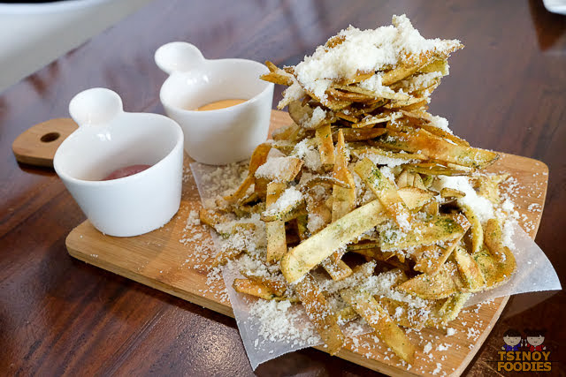 truffle parmesan fries