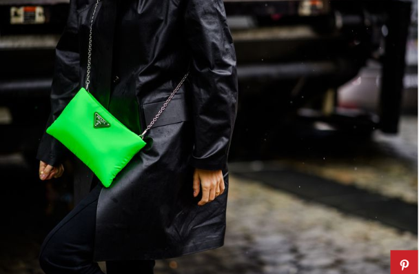 Neon Bright Up the Street Style during Fashion Month