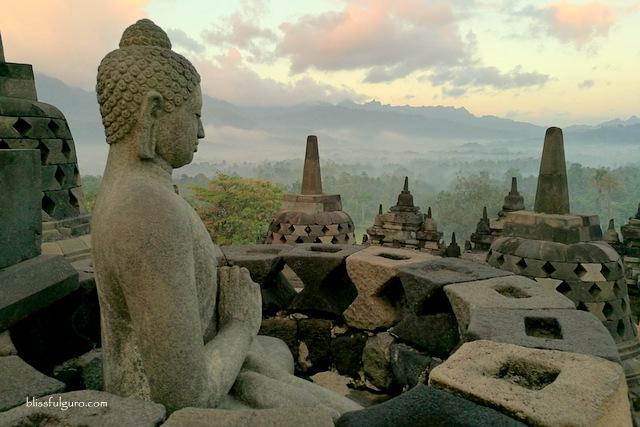 Borobudur Sunrise Yogyakarta Indonesia