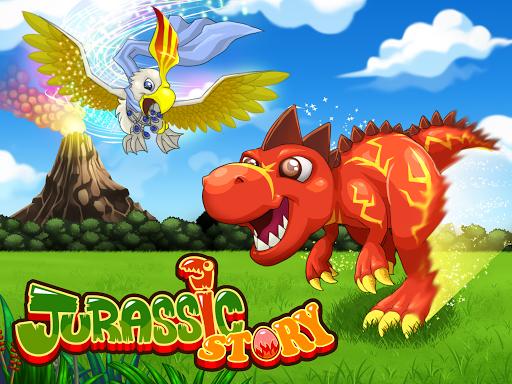 Jurassic Story Trò chơi Rồng Hack Full Tiền Vàng Cho Android