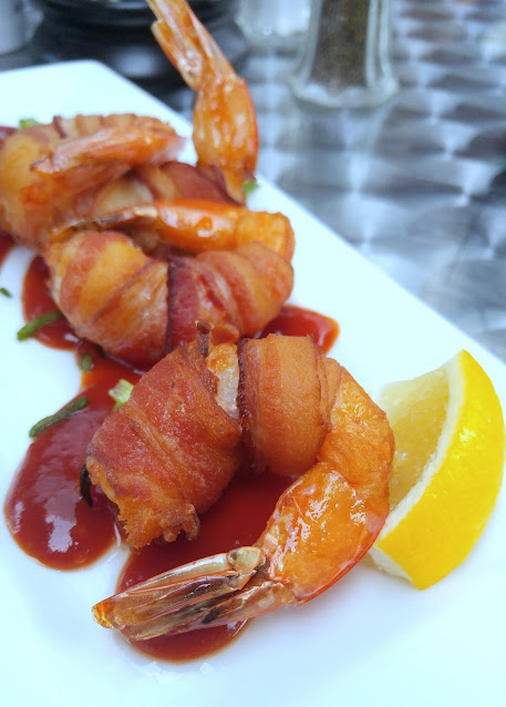 BBQ-Bacon-Shrimp-Bell-Hall-Allentown-PA-tasteasyougo.com