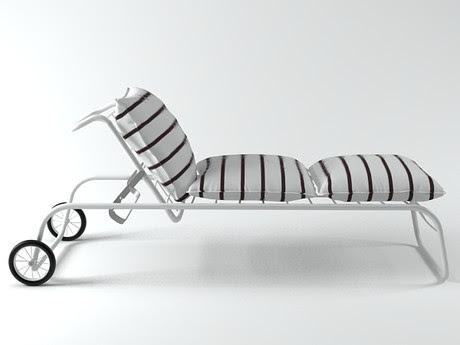 [3Dsmax] 3D model free - Framura sun cot
