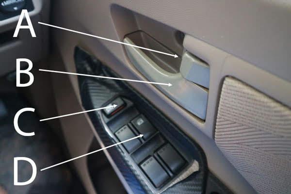 tombol pintu mobil avanza